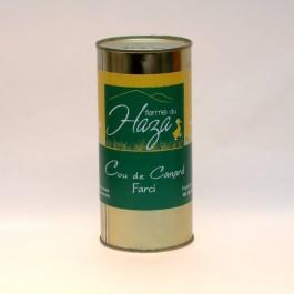 Cou de canard farci au foie gras