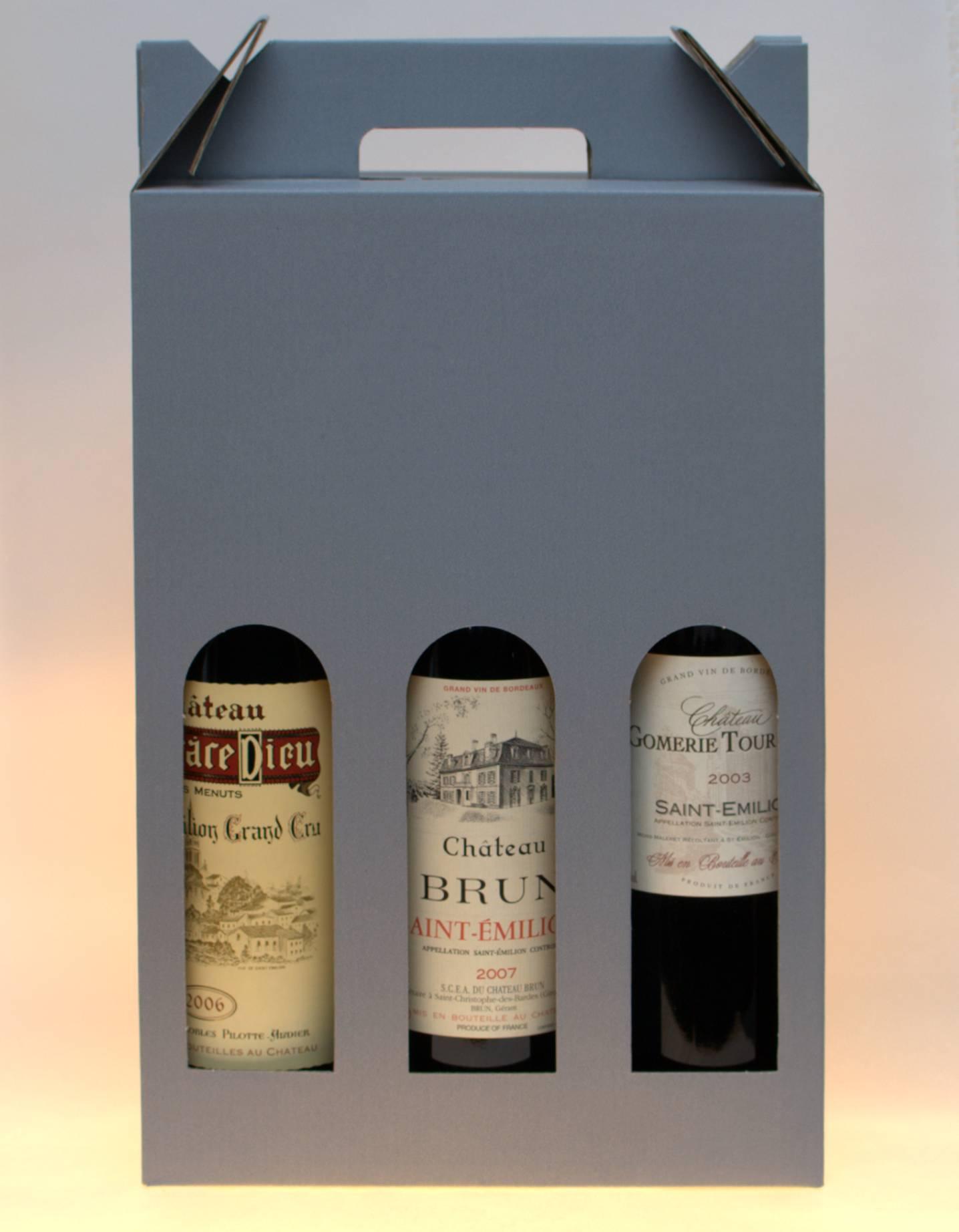 Coffret 3 bouteilles