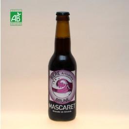Bière de Mascaret Brune Bio