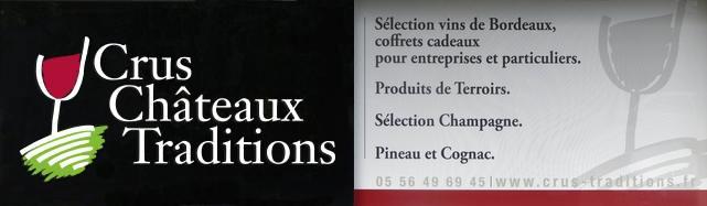 Vitrine Crus Château Traditions
